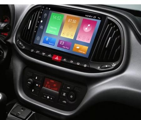 Navigatie Fiat Doblo ( 2015 - 2020 ) , Android , Display 9 inch , 2GB RAM +32 GB ROM , Internet , 4G , Aplicatii , Waze , Wi Fi , Usb , Bluetooth , Mirrorlink [3]