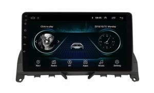 Navigatie Mercedes C Class W204 ( 2006 - 2012 ) , Android , Display 9 inch , 2GB RAM +32 GB ROM , Internet , 4G , Aplicatii , Waze , Wi Fi , Usb , Bluetooth , Mirrorlink2