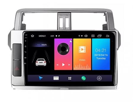Navigatie Toyota Land Cruiser ( 2014 - 2017 ) , Android , Display 9 inch , 2GB RAM +32 GB ROM , Internet , 4G , Aplicatii , Waze , Wi Fi , Usb , Bluetooth , Mirrorlink [3]