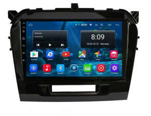 Navigatie Suzuki Grand Vitara ( 2016 + ) , Android , Display 9 inch , 2GB RAM +32 GB ROM , Internet , 4G , Aplicatii , Waze , Wi Fi , Usb , Bluetooth , Mirrorlink0