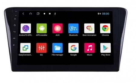 Navigatie Peugeot 408 ( 2014 - 2020 ) , Android , Display 10 inch , 2GB RAM +32 GB ROM , Internet , 4G , Aplicatii , Waze , Wi Fi , Usb , Bluetooth , Mirrorlink1