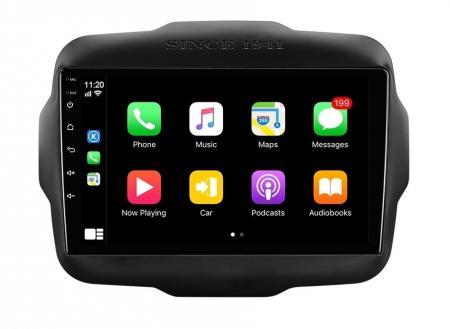 Navigatie Jeep Renegade ( 2015 - 2021 ) , Android , Display 9 inch , 2GB RAM +32 GB ROM , Internet , 4G , Aplicatii , Waze , Wi Fi , Usb , Bluetooth , Mirrorlink1