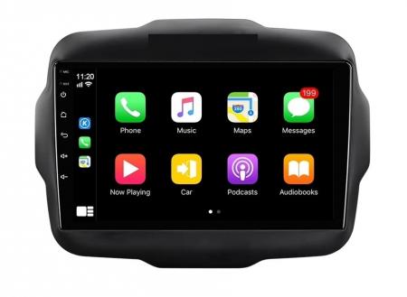 Navigatie Jeep Renegade ( 2015 -2021 ) , 4 GB RAM + 64 GB ROM , Slot Sim 4G pentru Internet , Carplay , Android , Aplicatii , Usb , Wi Fi , Bluetooth2