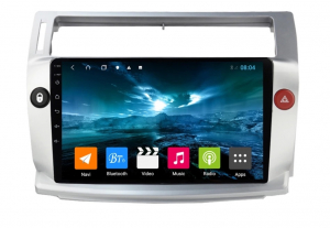 Navigatie Citroen C4 ( 2004 - 2011 ) , Android , Display 9 inch , 2GB RAM +32 GB ROM , Internet , 4G , Aplicatii , Waze , Wi Fi , Usb , Bluetooth , Mirrorlink [0]