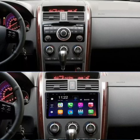 Navigatie Mazda CX 9 ( 2006 - 2016 ) , Android , Display 9 inch , 2GB RAM +32 GB ROM , Internet , 4G , Aplicatii , Waze , Wi Fi , Usb , Bluetooth , Mirrorlink [1]