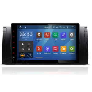 Navigatie BMW Seria 5 E39 X5 E53 , Android , Display 9 inch , 2GB RAM +32 GB ROM , Internet , 4G , Aplicatii , Waze , Wi Fi , Usb , Bluetooth , Mirrorlink4