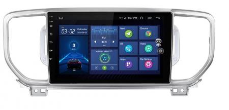 Navigatie KIA Sportage ( 2016 + ) , 4 GB RAM + 64 GB ROM , Slot Sim 4G pentru Internet , Carplay , Android , Aplicatii , Usb , Wi Fi , Bluetooth0