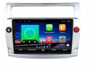 Navigatie Citroen C4 ( 2004 - 2011 ) , Android , Display 9 inch , 2GB RAM +32 GB ROM , Internet , 4G , Aplicatii , Waze , Wi Fi , Usb , Bluetooth , Mirrorlink [6]