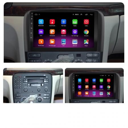 Navigatie Volvo S80 ( 1998 - 2006 ) , Android , Display 9 inch , 2 GB RAM + 32 GB ROM , Internet , 4G , Aplicatii , Waze , Wi Fi , Usb , Bluetooth , Mirrorlink [3]