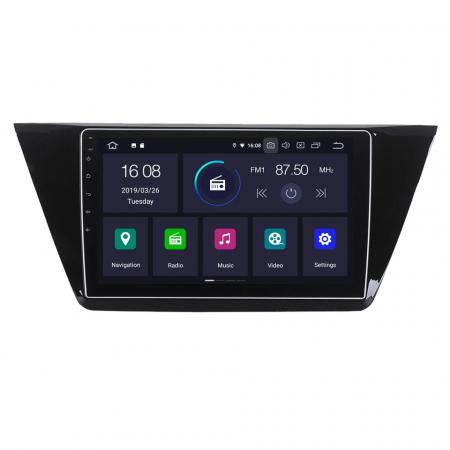 Navigatie VW Touran 2016 + , 4 GB RAM si 64 GB ROM , Slot Sim 4G pentru Internet , Carplay , Android , Aplicatii , Usb , Wi Fi , Bluetooth [4]
