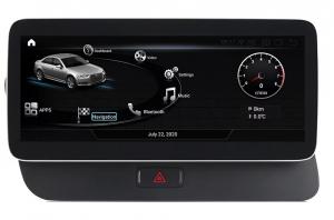"""Navigatie Audi Q5 ( 2009 - 2016) ,  Audi MMI 3G , Android , 4GB RAM +64 GB ROM , Slot Sim 4G LTE , Display 10.25 """" rez 1920*720 , Procesor Octa Core , Internet0"""