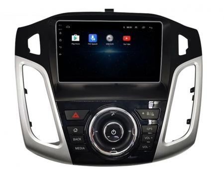 Navigatie Ford Focus 2012 - 2018 , Slot SIM 4G , Android , 3 GB RAM si 32 GB ROM , Internet, Aplicatii, Waze , Wi Fi , Usb , Bluetooth , Mirrorlink3