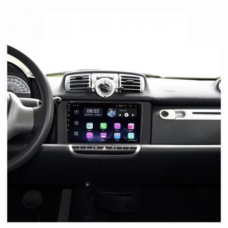 Navigatie Smart ForTwo ( 2010 - 2015 ) Android , Display 9 inch , 2 GB RAM si 32 GB ROM , Internet , 4G , Aplicatii , Waze , Wi Fi , Usb , Bluetooth , Mirrorlink [3]