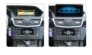 "Navigatie Mercedes E Class W212 ( 2012 - 2014) ,  Android , NTG 4.5 , 4GB RAM + 64 GB ROM , Slot Sim 4G LTE , Display 10.25 "" rez 1920*720 , Procesor Octa Core , Internet , Aplicatii , Waze , Wi Fi ,2"
