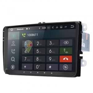 Navigatie Gps 9 inch VW Golf 5 6 Passat B6 B7 CC EOS Tiguan Polo Touran Caddy Amarok , Android 9.0, 2GB RAM + 16GB ROM , Waze Youtube Internet Wi Fi Usb1
