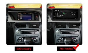 "Navigatie Audi A4 A5 B8 ( 2009 - 2016) , Audi Concert / Symphony , Android , 4GB RAM +64 GB ROM , Slot Sim 4G LTE , Display 10.25 "" rez 1920*720 , Procesor Octa Core , Internet4"
