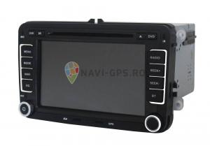 Navigatie Gps VW Golf 5 6 Passat B6 B7 CC Tiguan Touaran Jetta Eos Polo Amarok Caddy , Windows 6.0 , Dvd Player , Usb , Bluetooth , Card 8GB Europa full1
