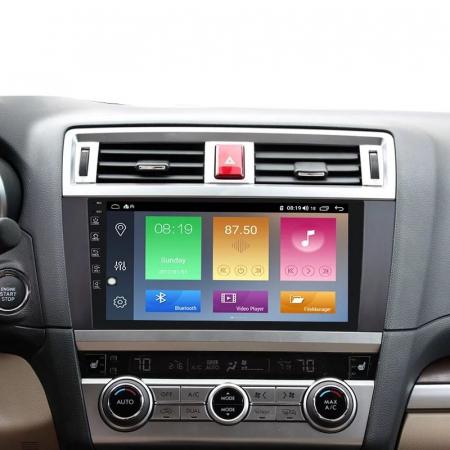 Navigatie Subaru Outback ( 2014 - 2020 ) , Android , Display 9 inch , 2 GB RAM si 32 GB ROM , Internet , 4G , Aplicatii , Waze , Wi Fi , Usb , Bluetooth , Mirrorlink [3]