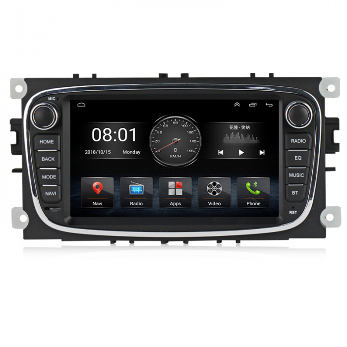 Navigatie NAVI-IT 2 GB RAM + 32 GB ROM Gps Android Ford Mondeo Focus S Max Transit Tourneo, Interne ,Aplicatii , Waze , Wi Fi , Usb , Bluetooth , Mirrorlink - Copie 0