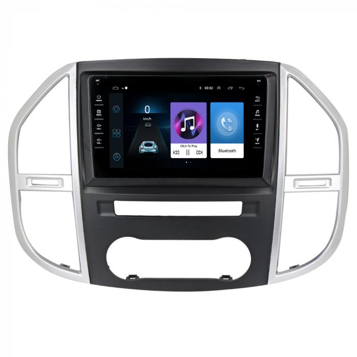 Navigatie NAVI-IT, 1GB RAM 16GB ROM,Mercedes Vito 3, Android 9.1, Display IPS, Functie RDS, Bluetooth, WiFi, Magazin Play, Camera Marsarier [0]