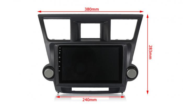 Navigatie Toyota Highlander 2 (2007-2014), NAVI-IT, 10.1 Inch, 2GB RAM 32GB ROM, Android 9,1, WiFi, Bluetooth, Magazin Play, Camera Marsarier [3]