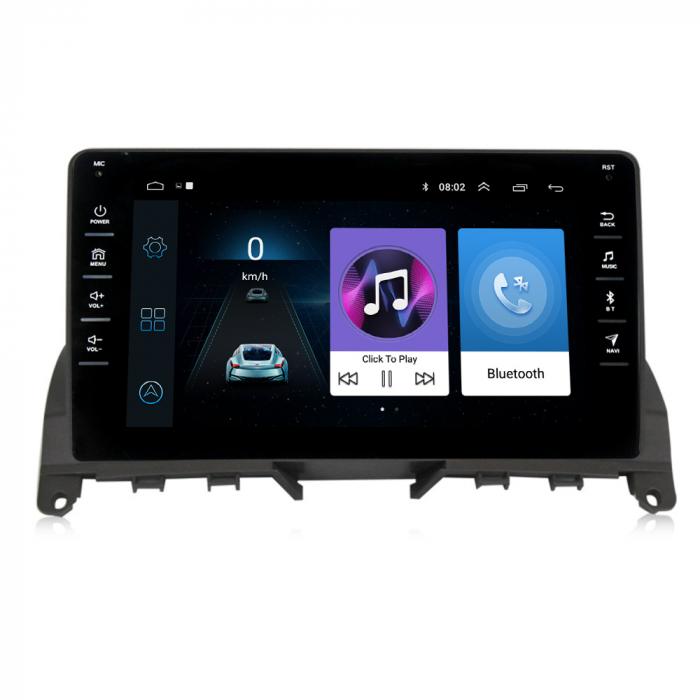 Navigatie NAVI-IT, 1GB RAM 16GB ROM,Mercedes W204, Android 9.1, Display IPS, Functie RDS, Bluetooth, WiFi, Magazin Play, Camera Marsarier [0]