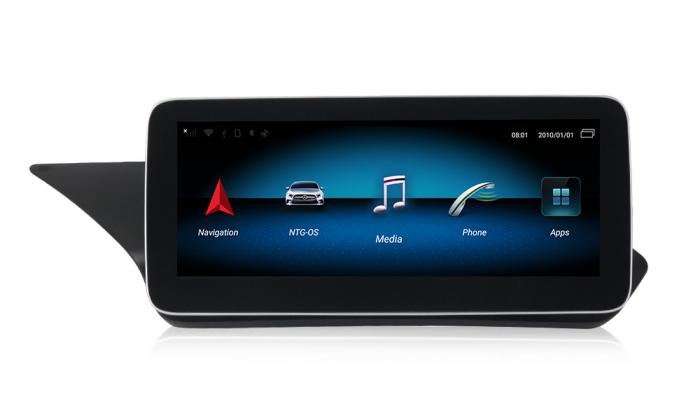 """Navigatie NAVI-IT 2GB RAM + 32GB ROM, Android Mercedes E Class W212 ( 2012 - 2014) , NTG 4.5, Display 10.25 """" rezolutie 1920*720 , Internet , Wi Fi , Usb , Bluetooth 0"""
