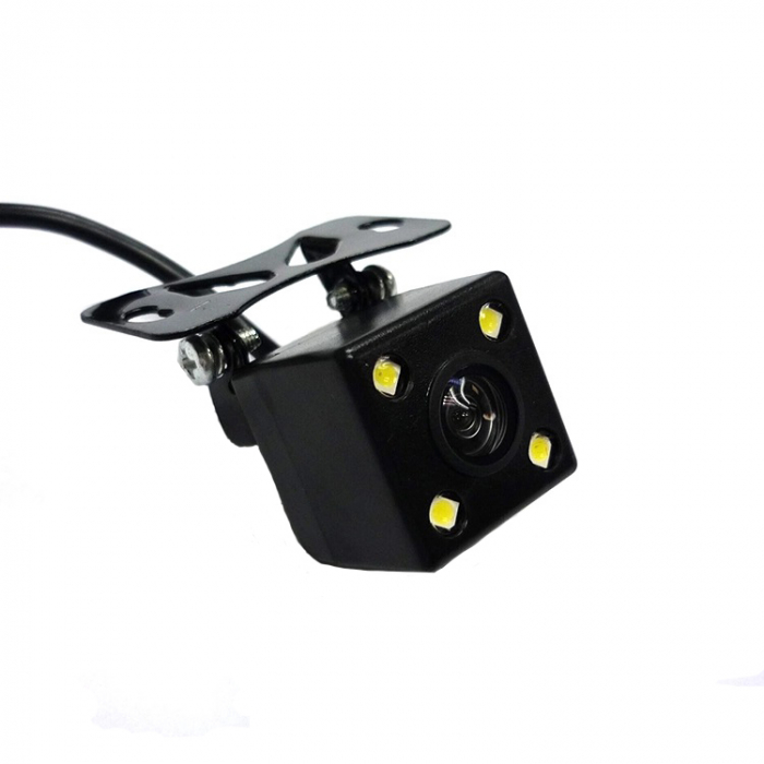 Camera marsarier 4 leduri, patrata, Full HD, reglabila manual 0