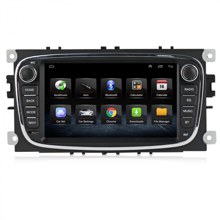 Navigatie NAVI-IT 2 GB RAM + 32 GB ROM Gps Android Ford Mondeo Focus S Max Transit Tourneo, Interne ,Aplicatii , Waze , Wi Fi , Usb , Bluetooth , Mirrorlink - Copie 2