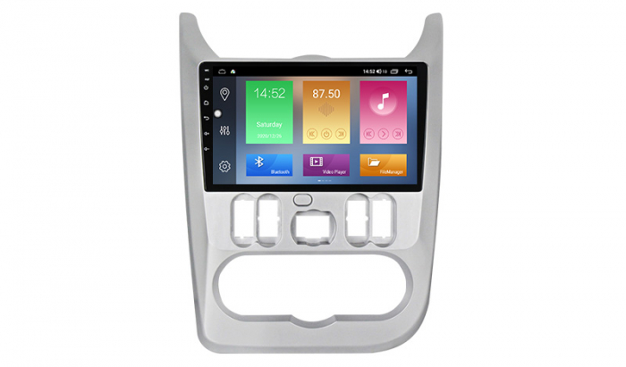 Navigatie NAVI-IT  4 GB RAM + 64 GB ROM Dacia Logan ( 2009 - 2016 ) , Android , Display 9 inch , Internet ,Aplicatii , Waze , Wi Fi , Usb , Bluetooth , Mirrorlink - Copie - Copie 0