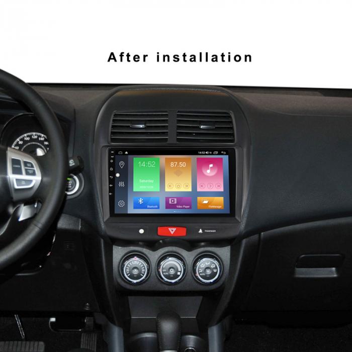 Navigatie Mitsubishi ASX 2010-2019,  Peugeot 4008 NAVI-IT, 10.1 Inch, NAVI-IT, 10.1 Inch, 1GB RAM 16GB ROM, Android 9.1, WiFi, Bluetooth, Magazin Play, Camera Marsarier [5]