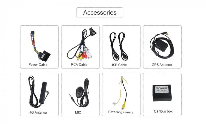 Navigatie NAVI-IT 2GB RAM + 32GB ROM Gps Android BMW Seria 3 E90 E91 (2005 - 2012), Internet , Aplicatii, Waze , Wi Fi , Usb , Bluetooth , Mirrorlink - Copie 6