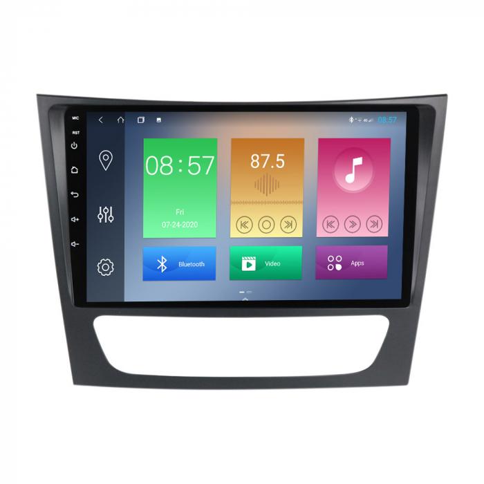 Navigatie Mercedes W211,Navi-IT, 9 Inch, 4GB RAM 64GB ROM, Android 10, IPS, DSP, RDS, WiFi, Bluetooth, Magazin Play, Camera Marsarier [3]