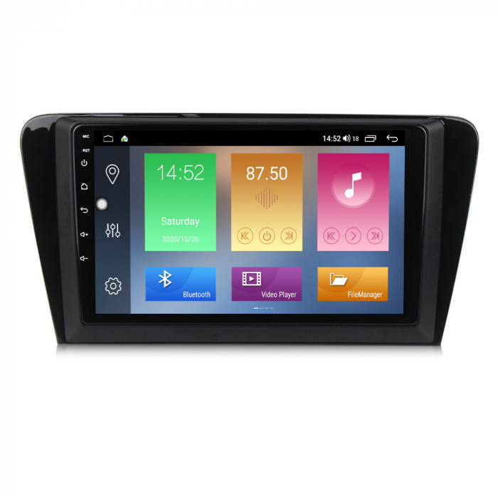 Navigatie Skoda Octavia A7 2014, NAVI-IT, 10.1 Inch, 1GB RAM 16 GB ROM, Android 9,1, WiFi, Bluetooth, Magazin Play, Camera Marsarier [0]
