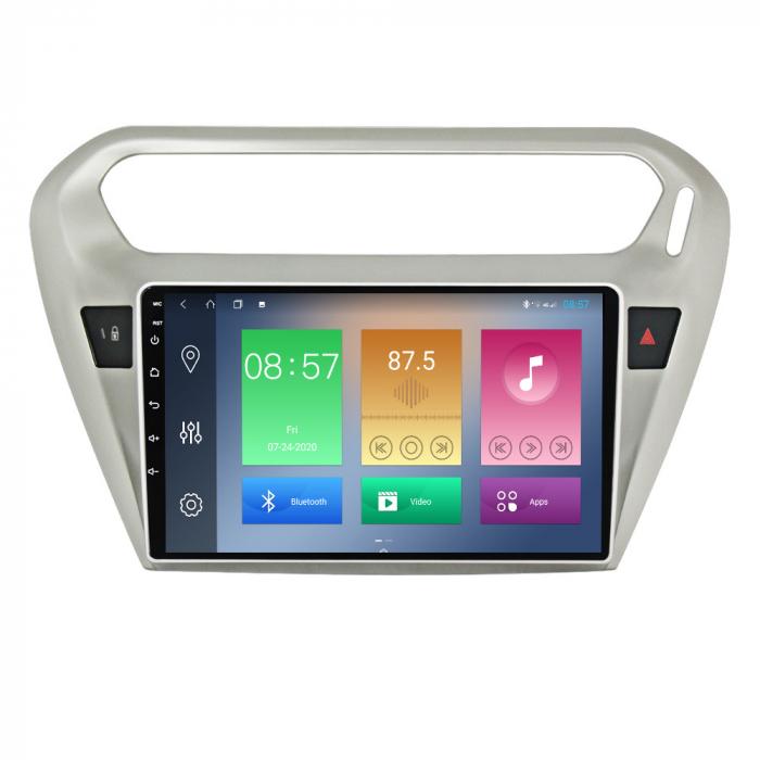 Navigatie Peugeot 301, Elysee 2013-2016, NAVI-IT, 9 Inch, 2GB RAM 32GB ROM, Android 9.1, WiFi, Bluetooth, Magazin Play, Camera Marsarier [5]