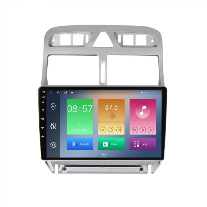 Navigatie Peugeot 307 2002-2013, NAVI-IT, 9 Inch, 2GB RAM 32GB ROM, Android 9.1, WiFi, Bluetooth, Magazin Play, Camera Marsarier [0]