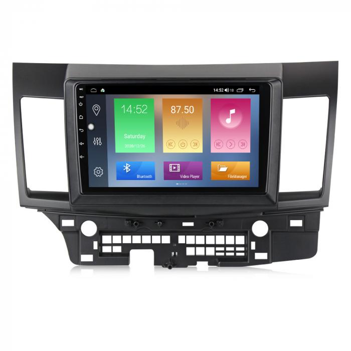 Navigatie Mitsubishi Lancer 2007-2012, NAVI-IT, 10.1 Inch, 4GB RAM 64GB ROM, IPS, DSP, RDS, 4G, Android 10 , WiFi, Bluetooth, Magazin Play, Camera Marsarier [0]