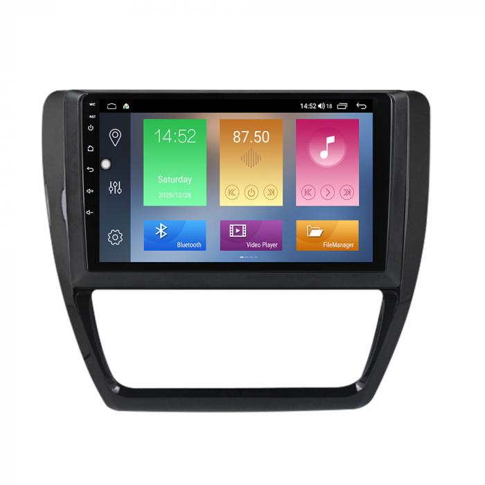 Navigatie Volkswagen Sagitar, Jetta, NAVI-IT, 9 Inch, 4GB RAM 64GB ROM, IPS, DSP, RDS, 4G, Android 10 , WiFi, Bluetooth, Magazin Play, Camera Marsarier [0]