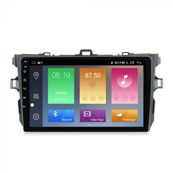 Navigatie Toyota Corolla 2010 NAVI-IT,9 Inch, 4GB RAM 64GB ROM, IPS, DSP, RDS, 4G, Android 10 , WiFi, Bluetooth, Magazin Play, Camera Marsarier [0]