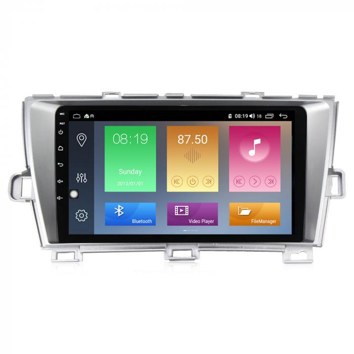 Navigatie Toyota Prius, NAVI-IT, 9 Inch, 1GB RAM 16 GB ROM, Android 9,1, WiFi, Bluetooth, Magazin Play, Camera Marsarier [0]