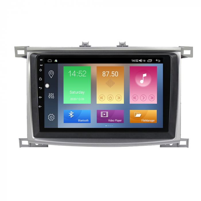 Navigatie Toyota Land Cruiser 2005, NAVI-IT, 10.1 Inch, 1GB RAM 16GB ROM, Android 10 , WiFi, Bluetooth, Magazin Play, Camera Marsarier [0]