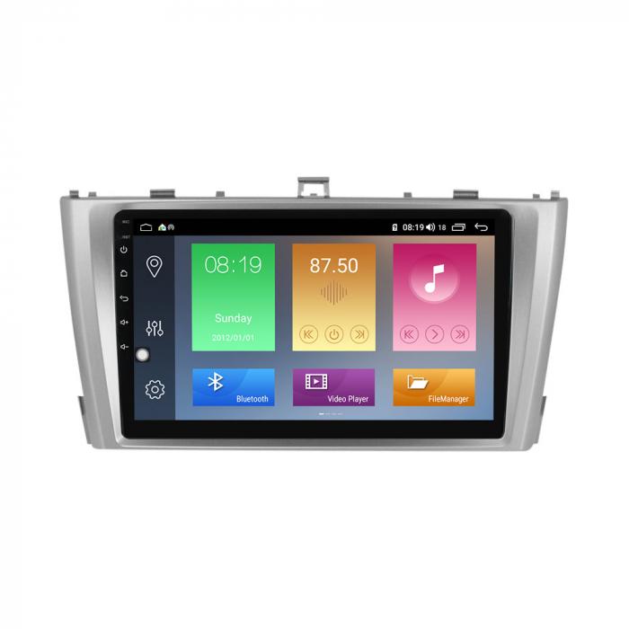 Navigatie Toyota Avensis 2011-2015, NAVI-IT, 9 Inch, 1GB RAM 16GB ROM, Android 9.1 , WiFi, Bluetooth, Magazin Play, Camera Marsarier [0]