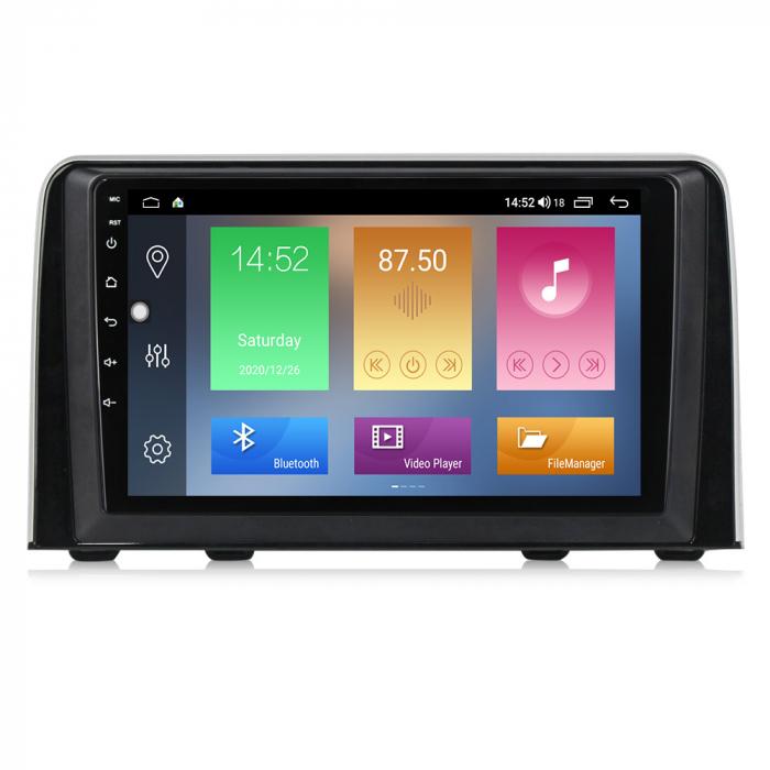 Navigatie Honda CR-V 2016-2018, NAVI-IT, 9 Inch, 4GB RAM 64GB ROM, IPS, DSP, RDS, 4G, Android 10 , WiFi, Bluetooth, Magazin Play, Camera Marsarier [0]