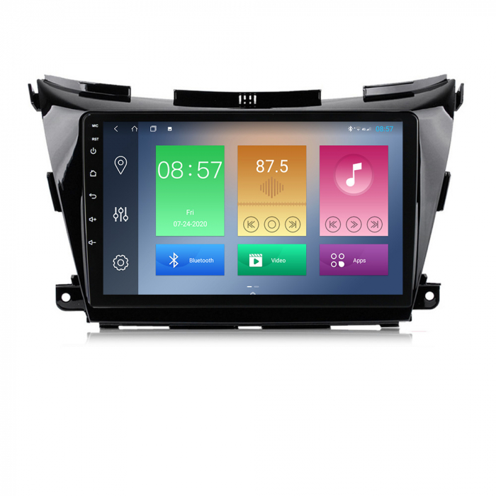 Navigatie Nissan Murano 2014-2020, 10.25 Inch, 2GB RAM 32GB ROM, Android 9.1, WiFi, Bluetooth, Magazin Play, Camera Marsarier [0]