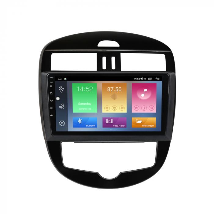 Navigatie Nissan Tiida 2011-2015, 10.25 Inch, 1GB RAM 16GB ROM, Android 9.1, WiFi, Bluetooth, Magazin Play, Camera Marsarier [3]