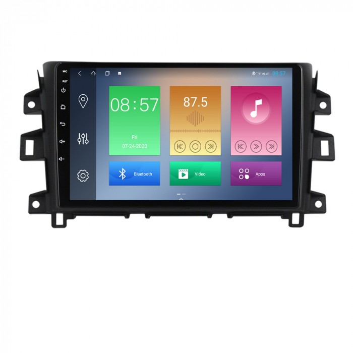 Navigatie Nissan Navara 2011-2016,NAVI-IT, 10.1 Inch, 2GB RAM 32GB ROM, Android 9.1, WiFi, Bluetooth, Magazin Play, Camera Marsarier [0]