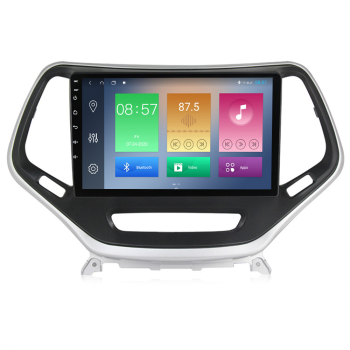 Navigatie Jeep Grand Cherokee 2014-2018, NAVI-IT, 10.25 Inch, 4GB RAM 64GB ROM, IPS, DSP, RDS, 4G, Android 10 , WiFi, Bluetooth, Magazin Play, Camera Marsarier [4]