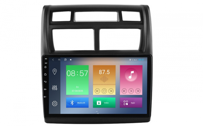 Navigatie Kia Sportage 2004-2010, NAVI-IT, 9 Inch, 4GB RAM 64GB ROM, IPS, DSP, RDS, 4G, Android 10 , WiFi, Bluetooth, Magazin Play, Camera Marsarier [0]