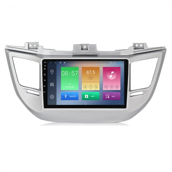 Navigatie Hyundai Tucson, IX35 2014-2018, NAVI-IT, 9 Inch, 4GB RAM 64GB ROM, IPS, DSP, RDS, 4G, Android 10 , WiFi, Bluetooth, Magazin Play, Camera Marsarier [5]
