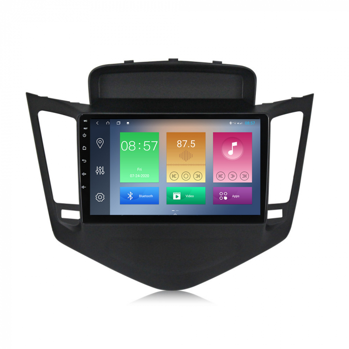 Navigatie Chevrolet Cruze 2009-2014, NAVI-IT, 9 Inch, 4GB RAM 64GB ROM, IPS, DSP, RDS, 4G, Android 10 , WiFi, Bluetooth, Magazin Play, Camera Marsarier [4]
